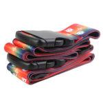 Luggage Strap Cross Belt Travel Suitcase Packing Buckle Belt (Multicolor)