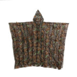 3D Maple Leaf Bionic Hunting Clothes Birdwatch Camouflage Clothing Jacket
