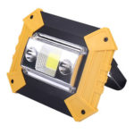 20W LED Spotlight Outdoor Camping Flood Light USB Charging Work Light (A)