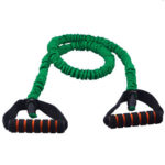 Fitness Pull Rope Latex Resistance Band Cable Gym Sports Equipment (Green)