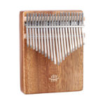 21 Keys Kalimba Thumb Piano with Tuning Hammer Musical Instrument (Walnut)