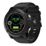 SW002 Smart Sports Bracelet IP68 Heart Rate Monitor Fitness Watch (Black)