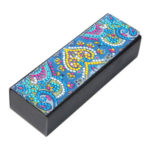 DIY Diamond Painting Leather Eye Glasses Storage Case Travel Sunglasses Box