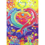 5D DIY Special Shaped Diamond Painting Dolphin Embroidery Mosaic Craft Kit
