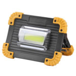 COB SMD LED Work Lamp 20W Rechargeable Outdoor Emergency Lamp (w/o Battery)