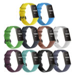 10x Wrist Straps 10 Colors Silicone Sports Bracelet Wristband for Charge 3