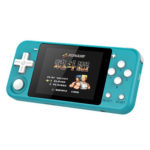 Q90 3.0 inch IPS LCD Retro Handheld Game Player for PSP Game Console (Blue)