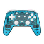 Wireless Gamepad Joystick Bluetooth Console Joypad for NS PRO PC (Blue)