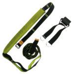 Yoga Ballet Adjustable Leg Training Stretch Band Flexibility Strap (Green)