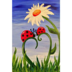 5D DIY Full Drill Diamond Painting Ladybug Cross Stitch Embroidery Craft