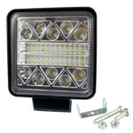 102W 4 inch LED Strobe Work Lamp Square Offroad Car SUV Driving Fog Light