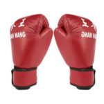 Adults Boxing Gloves PU Leather MMA Muay Thai Sanda Gloves Sports Equipment