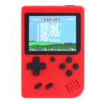 Q3 Retro Handheld Game Console 8 Bit Game Player Built-in 520 Games (Red)