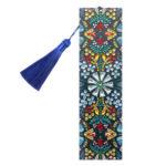 DIY Mandala Special Shaped Diamond Painting Leather Tassel Bookmark Crafts