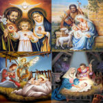 5D DIY Full Drill Diamond Painting Religious Embroidery Mosaic Kit (B035)