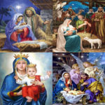 5D DIY Full Drill Diamond Painting Religious Embroidery Mosaic Kit (B021)