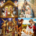 5D DIY Full Drill Diamond Painting Religious Embroidery Mosaic Kit (B038)