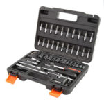46pcs Socket Wrench Set Ratchet Spanner Multi-functional Car Repair Tool