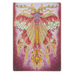 DIY Special Shaped Diamond Painting Butterfly 50 Pages A5 Drawing Notebook