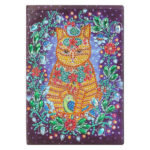 DIY Cat Special Shaped Diamond Painting 50 Page Sketchbook A5 Notebook Gift