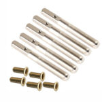 5pcs Pins Nails+5pcs Accessories for 7/10 String Lyre Small Harp Geek Parts