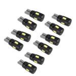 T10 SMD 5730 LED Car Interior Bulb Error Free LED Wedge Light Bulbs (10pcs)