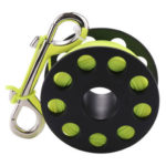 Scuba Diving Reel Spool Finger Reel with Stainless Steel Bolt Snap Hook
