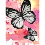 5D DIY Full Drill Diamond Painting Butterflies Cross Stitch Embroidery Gift