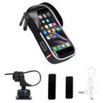 WEST BIKING Bicycle Phone Bag MTB Bike Touch Screen GPS Navigation Bag