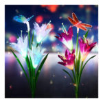 5D DIY Full Drill Diamond Painting Dragonfly Flower Cross Stitch Embroidery
