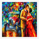 5D DIY Full Drill Diamond Painting Couple Cross Stitch Mosaic Craft Kit