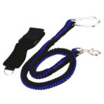 Adjustable Rock Climbing Rope with Carabiner Safety Buckle Anti Fall Belt