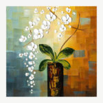 5D DIY Full Drill Diamond Painting Flowers on Pile Embroidery Mosaic Kit