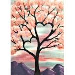 5D DIY Full Drill Diamond Painting Love Tree Embroidery Mosaic Craft Kit