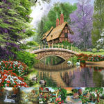5D DIY Full Drill Diamond Painting Scenery Cross Stitch Mosaic Kit (C1134)