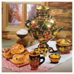 5D DIY Full Drill Diamond Painting Dining Table Cross Stitch Embroidery Kit