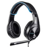 L6 3.5mm Wired Stereo Headset Gaming Over-Ear Earphone for PC PS4 with Mic