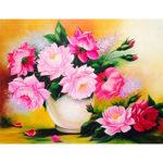 5D DIY Full Drill Diamond Painting Flower Embroidery Craft Kit Decor (B418)