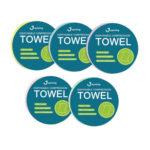 Disposable Compression Towel Outdoor Portable Non-woven Fabric Bath Towel