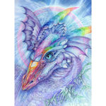 5D DIY Full Drill Diamond Painting Dragon Embroidery Mosaic Craft Kit Decor