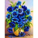 5D DIY Full Drill Diamond Painting Flower Cross Stitch Home Decor (B324)