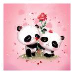 5D DIY Full Drill Diamond Painting Panda Cross Stitch Embroidery (C1086)