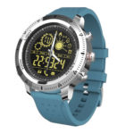 NX02 Smart Watch IP67 Waterproof Bluetooth Smartwatch Sport Tracker (Blue)