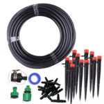 25m DIY Drip Irrigation System Garden Micro Drip Automatic Watering Kit