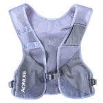 Running Hydration Backpack Outdoor Jogging Running Water Bag Vest (Grey)