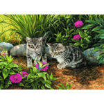 5D DIY Full Drill Diamond Painting Cat Cross Stitch Embroidery (WLL1274)