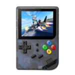 Q60 Handheld Game Console Built-in 169 Classic Games Game Player (Black)