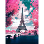 5D DIY Full Drill Diamond Painting Scenery Cross Stitch Embroidery (103)