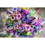 5D DIY Full Drill Diamond Painting Gorgeous Flowers Cross Stitch Embroidery
