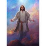 5D DIY Full Drill Diamond Painting Jesus Cross Stitch Embroidery (LG095)